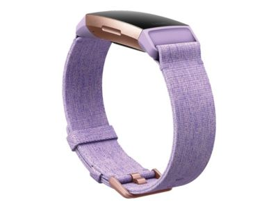 Fitbit Charge 3 Special Edition - rotgold - Aktivitätsmesser mit Sportband - Lavendel