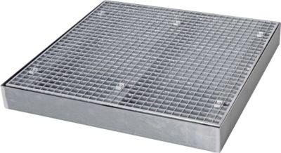 Flachwanne SAFE FW3, 1000 x 1000 x 118 mm