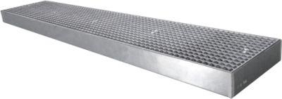Flachwanne SAFE FW4, 2500 x 500 x 118 mm