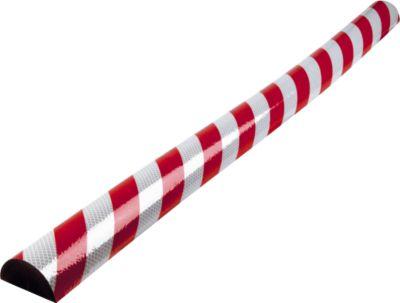 Flächenschutz Typ C, 1-m-Stück, rot/weiß reflective