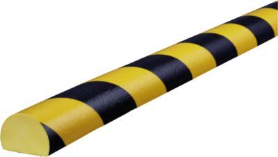 Flächenschutz Typ C, 5-m-Rolle, gelb/schwarz