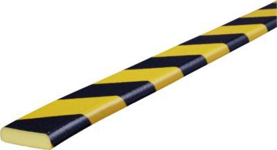 Flächenschutz Typ F, 5-m-Rolle, gelb/schwarz