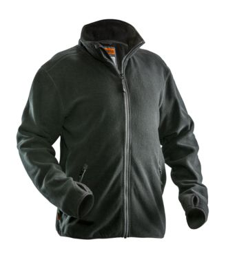 Fleece Jacke schwarz 3XL