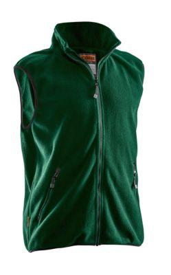 Fleece Weste grün 3XL