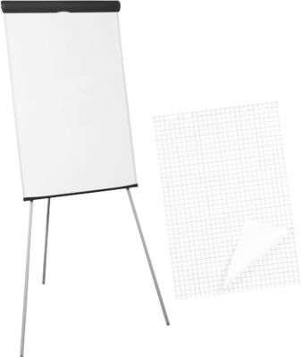 Flipchart  + 100 (5x20) flipchart vellen GRATIS