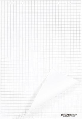Flipchart-Blöcke, kariert, 5 Stück