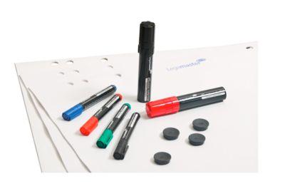 Flipchart-Starter-Set Legamaster 7-124900, Blöcke, Marker, Magnete, 14-teilig
