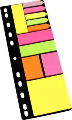 Folder set fluo notes, assortiment