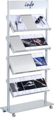Folderstandaard, 12 x DIN A4