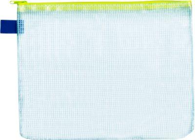 Foldersys Verzendhoesje met rits, formaat A5, 10 stuks, geel