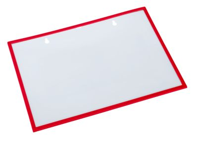 Formulier-/documentmap, magnetisch, 10 stuks, rood