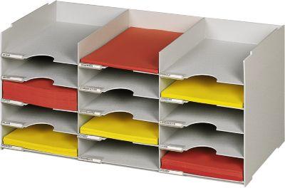Formulierenbakjes, 15 vakken, b 674 x d 304 x h 313 mm