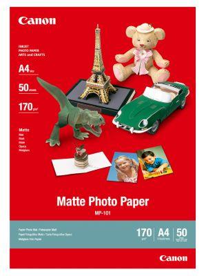 Fotopapier CANON matt, 170 g/m², 50 Blatt, A4