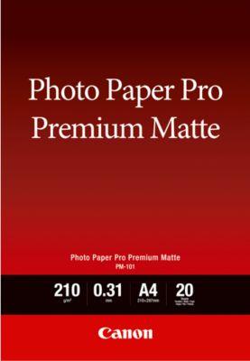Fotopapier CANON matt, 210g/m², 20 Blatt, A4