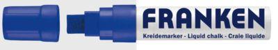 Franken Jumbo Kreidemarker ZKM1503, blau, Strichstärke 5 - 15 mm