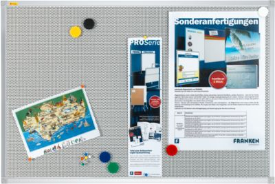Franken Pinnwandtafel Pin'n'Mag X-tra, Textil, 900 x 600 mm