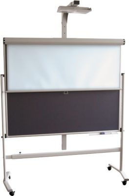 Franken Rollo-projectiescherm Pro Line bordsysteem, 1800 x 1800 mm