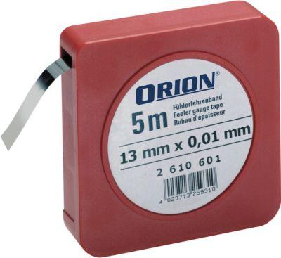 Fühlerlehrenband 0,01 - 0,25 mm im Set