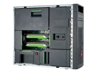 Fujitsu Celsius M770powerx - Tower - Core i9 7900X X-series 3.3 GHz - 64 GB - 4.512 TB - German