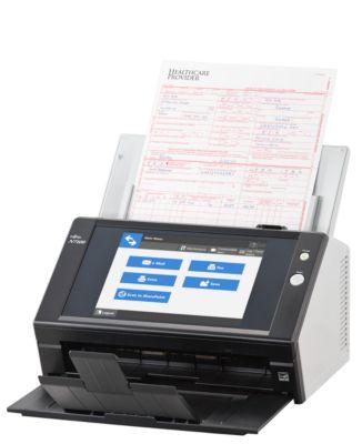 Fujitsu Netzwerkscanner N7100, int. Bildschirmtastatur, für Gruppen, leistungsstark