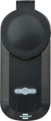 Funksteckdose Brennenstuhl BrematicPRO, schwarz, IP44 für außen, 100m Reichweite