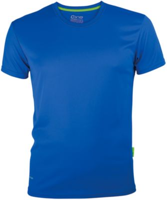 Funktionsshirt EVOLUTION TECH TEE, atmungsaktiv, schnelltrocknend, royalblue, Gr. XL