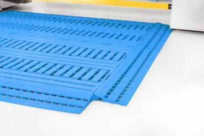 Fußbodenrost Work Deck, 600 x 1200 mm, blau