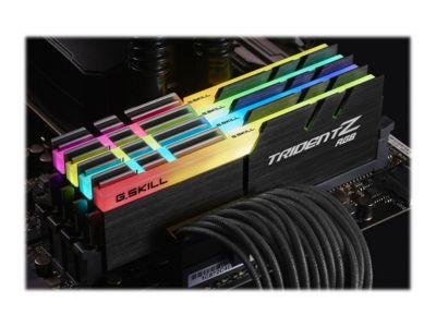 G.Skill TridentZ RGB Series - DDR4 - 32 GB: 4 x 8 GB - DIMM 288-PIN - ungepuffert