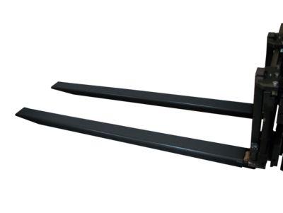 Gabelverlängerung, L 1600 x B 80 x 40 mm, schwarz