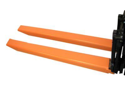 Gabelverlängerung, L 1800 x B 150 x 70 mm, orange