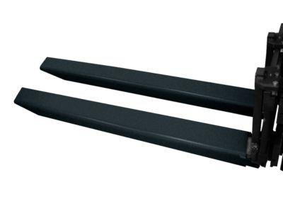 Gabelverlängerung, L 1800 x B 150 x 70 mm, schwarz