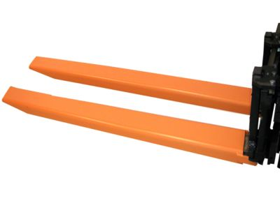Gabelverlängerung, L 2000 x B 150 x 70 mm, orange