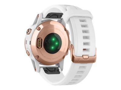 Garmin fenix 5S Plus Sapphire - Uhr unterstützt GPS, GLONASS und Galileo