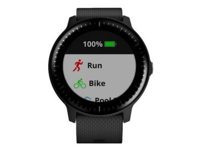 Garmin vívoactive 3 Music - schwarz - intelligente Uhr mit Band - schwarz