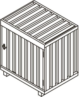 Gasflessenbox GB 1
