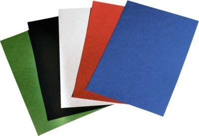 GBC® bindomslagen LeatherGrain, A4 formaat , 250 g/m², 100 stuks, wit