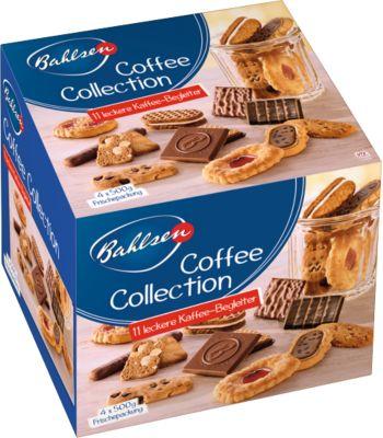 Gebäck Bahlsen Coffee Collection, 2 x 2000 g