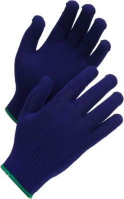 Gebreide handschoenen Worksafe L78-714, CE Cat 1, bescherming tegen hitte en transpiratie, acryl/spandex, donkerblauw, één maat, 12 paar.