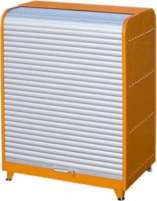 Gefahrstoff-Rollladenschrank, Typ RSG-2, orange RAL2000