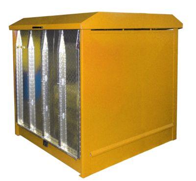 Gefahrstoffdepot Typ GD-N/R4, orange RAL2000