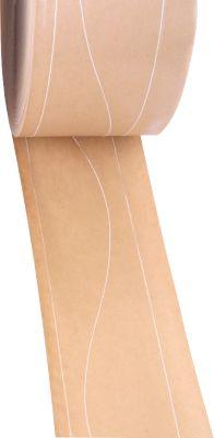Gegomd versterkte tape , 2 kunststof lengtedraden/ 1 slingerversteviging, 12 rollen
