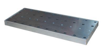 Geperforeerd rooster als toebehoren bij opvangbakken type KGW, 940 x 370 x 60 mm