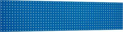 Geperforeerde gereedschapsplaat, 1981 x 457 mm, blauwRAL 5010