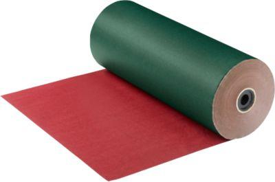 Geschenkpapier-Großrolle, grün/rot