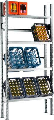 GF Drankkrattenrek, basiselement, 2278 x 1055 x 300 mm