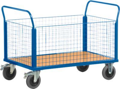 Gitter-Vierwandwagen, L 1000 x B 670 mm