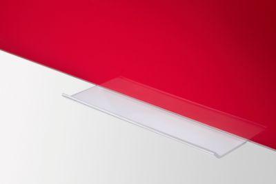 Glasboard Legamaster Colour 7-104763, B 1000 x H 1500 mm, rot, magnetisch