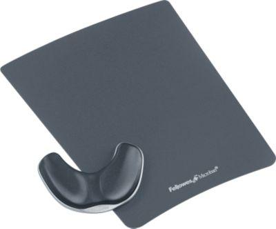 Gleitende Handgelenkauflage & Maus Pad, Stoff, graphit