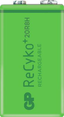 GP Akku-Monozelle NiMH ReCyko+ 9V 200, wiederaufladbar, 9 V, 1 Stück