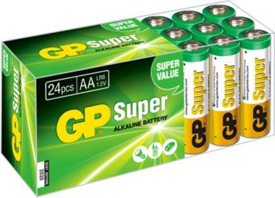 GP Batterien Multipack, 24 x Micro AA, 1,5 V
